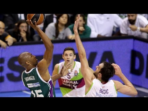 Highlights: Top 16, Round 14 vs. Laboral Kutxa Vitoria