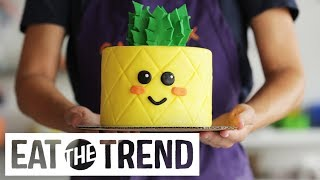 Pineapple Cake   Eat the Trend