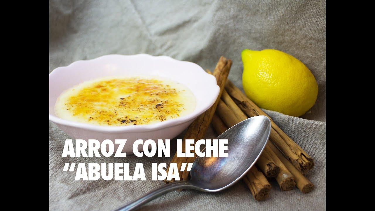 "ARROZ CON LECHE ""ABUELA ISA"""