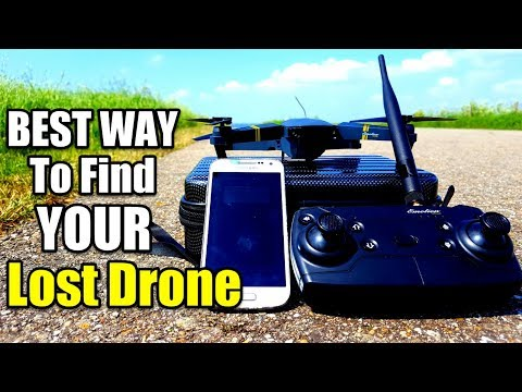 The Best Way How To Find Your Lost Eachine E58 Drone - Fast Recovery (Works For All Wifi FPV Drones)
