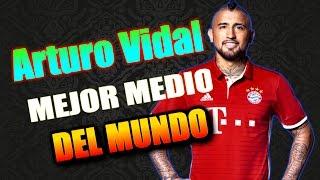 Arturo Vidal Bestia El Mejor Medio Campista Mixto Del Mundo 2016/17
