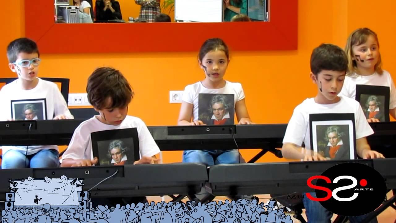 Himno de la alegría - Grupo de alumnos de Mi Teclado 1