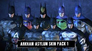 SKIN; Batman; Arkham Asylum; Batman Skins Pack