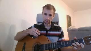 Cizí zeď - kytara - tutorial