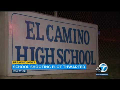 Shooting plot at high school in Whittier thwarted, police say | ABC7
