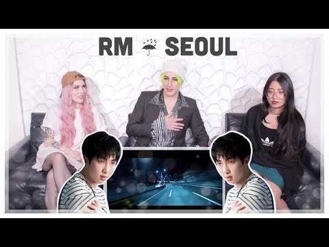RM 'seoul (prod. HONNE)' Lyric Video Reaction | EMO BOP OF THE YEAR