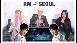 RM 'seoul (prod. HONNE)' Lyric Video Reaction | EMO BOP OF THE YEAR