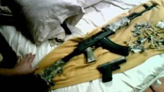 NEW BADASS ROMANIAN AK-47 WASR 10 .wmv