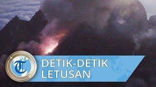 Video Detik-detik Gunung Merapi Meletus Terekam Kamera Traveler dari Sekitar Bunker Kaliadem