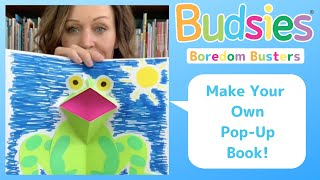 DIY Pop-Up Book For Kids & Children | Budsies© Boredom Buster