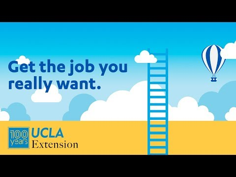 Get a Job You Love, with a Certificate from UCLA Extension