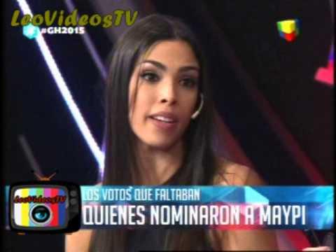 Quienes votaron a Maipi debate GH 2015 #GH2015 #GranHermano