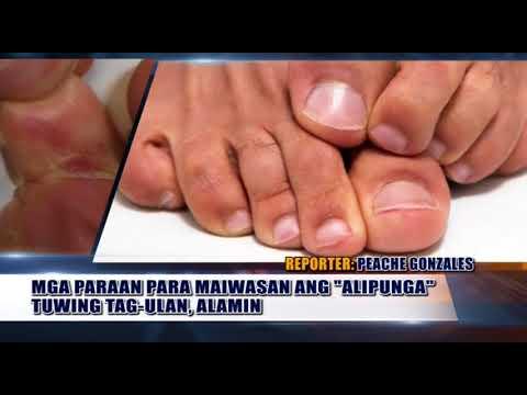 Ahente laban fungus toenails analogue ekzoderil