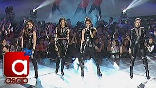 Kathryn, Julia, Janella, Liza sing