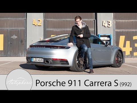 2019 Porsche 911 Carrera S (992) Fahrbericht / Digital trifft auf Retro - Autophorie