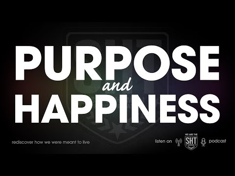 finding purpose and happiness