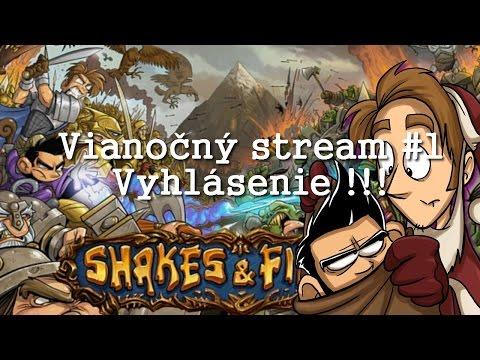 Shakes & fidget : Vianočný livestream, vyhlásenie a začiatok novej série !!!