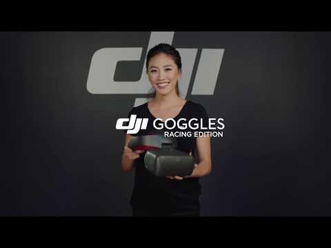 Очки виртуальной реальности DJI Goggles Racing Edition черный - Видео
