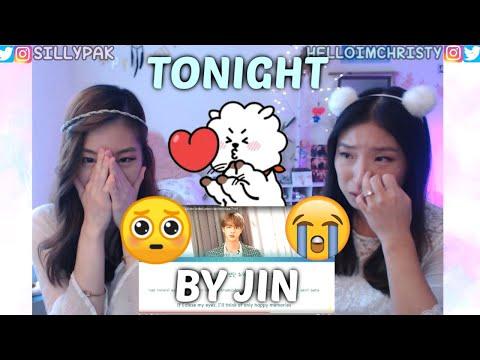 BTS FESTA 2019] TONIGHT 이 밤 by JIN (BTS)   SISTERS REACTION