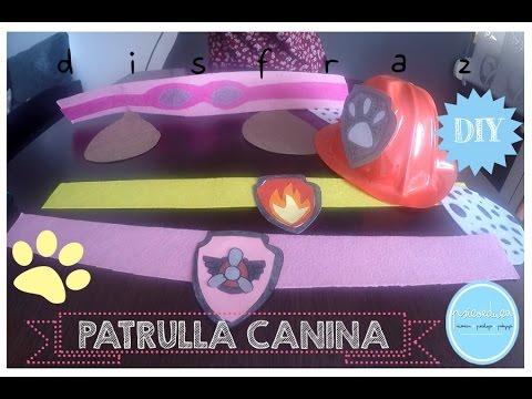 DISFRAZ PATRULLA CANINA - DIY CARNAVAL