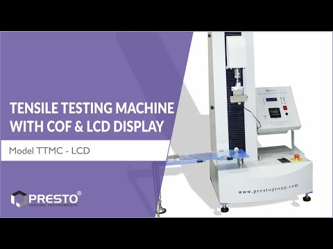 Tensile Testing Machine With COF (LCD Display)
