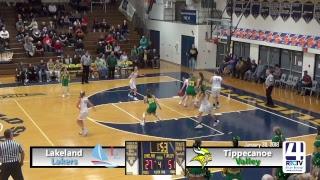 Tippecanoe Valley Girls Basketball vs Lakeland Lakers