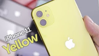 Yellow iPhone 11 Unboxing & First Impressions!