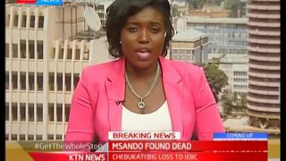 Studio Interview with security expert George Musamali: The death of Chris Msando
