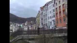 preview picture of video 'Karlovy Vary * Karlsbad- berühmter Kurort in Tschechien - schon Goethe war hier zu Besuch'