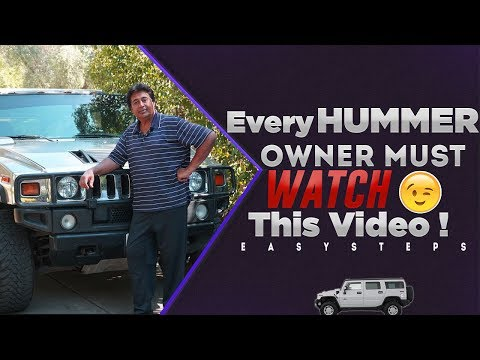 Every HUMMER Owner Must Watch This Video Unknown Driver Error