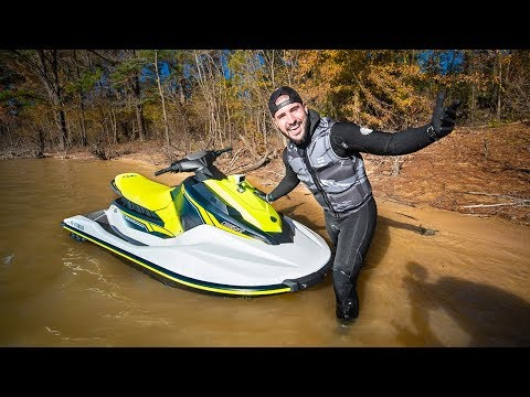 Surprising Subscriber with $10,000 NEW WaveRunner!! (extreme tubing)