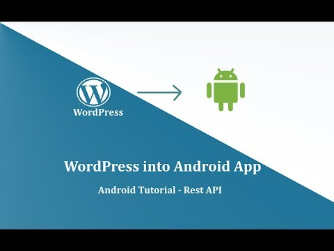 Get WordPress Post In Android App- Wordpress REST API Mp3