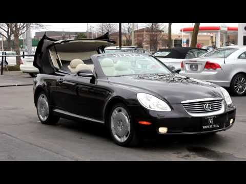 2002 Lexus SC430 in review - Village Luxury Cars Toronto