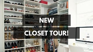 NEW Closet (& Office) Tour! – STYLE ME GRASIE