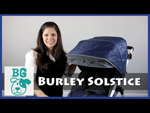 BG Review: Burley Soltice Jogging Stroller for Baby