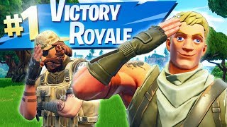 PRO CARRIES NOOB TO VICTORY ROYALE - Fortnite Short Film