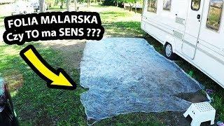 FOLIA MALARSKA na Polu Kempingowym - Jak się Spisała ???  (Vlog #209)