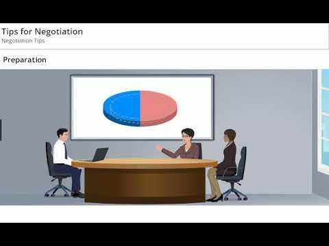 Tips for Negotiation - Skill Dynamics - YouTube