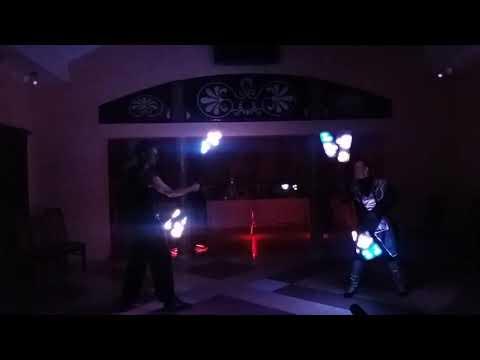 Світлодіодне шоу FIRE DANCE на весілля, відео 5