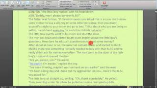 Add Page Numbers to Documents in Word 2007 & 2010  Step By Step Tutorial