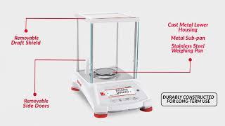 Váhy analytické a přesné Ohaus Pioneer PX-EN