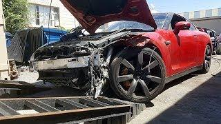 Totaled Nissan GT-R Rebuild - Part 2