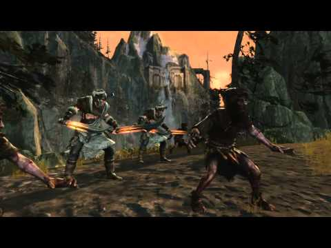 Lord of the Rings: War in North – A Black Numenorean trailer.