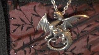 Alchemy Gothic Jewelry Review/Whitby Wyrm Dragon Necklace