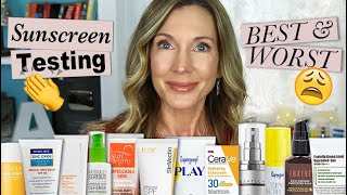 Testing 12 Mineral Sunscreens For Face! Best & Worst 2020