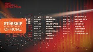 MONSTA X (몬스타엑스) - 2019 WORLD TOUR 'WE ARE HERE' SPOT