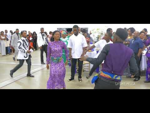 Congolese Seben Dance YeWana Congo Music | Congolese Wedding Entrance