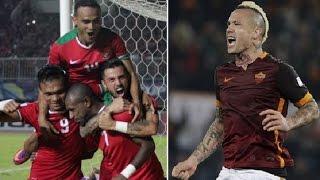 Dukungan Gelandang AS Roma Radja Nainggolan Untuk Timnas Indonesia Final AFF 2016