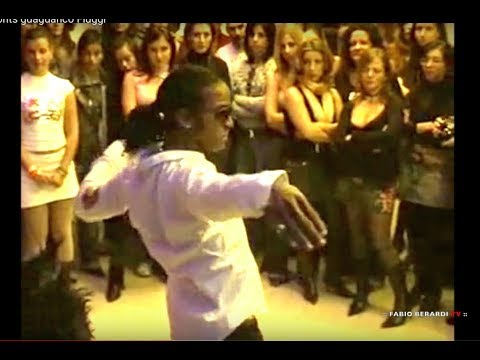 Insuperabile MAYKEL FONTS nel 2006 quando non era famoso Improvisación en Guaguanco Salsitaly Fiuggi