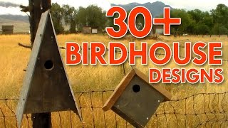 Birdhouses Ive Made - Outdoors With Trav